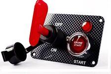 Switch Panel Qualité Ignition Start Isolateur interrupteur fibre de carbone effet (B)