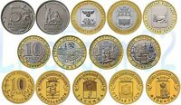 ✔ Russia 10 rubles roubles 2016 UNC Full Year Set 11 Pcs