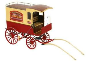 """European Commercial carriage Barcelona Scale 1:10 9.8"""" Wood Model kit"""