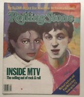 Vintage Rolling Stone Magazine Issue No. 410 (Dec 8th, 1983) Pre Owned McCartney