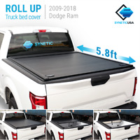 Waterproof Aluminum Retractable Tonneau Truck Bed For 2019-2021 Ram 1500 5.8ft