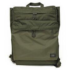 Yoshida Bag / PORTER FORCE RUCK SACK Daypack 855-07417 OLIVEDRAB from Japan New
