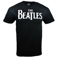 THE BEATLES Mens Tee T Shirt S M L XL John Lennon Rock Band Black Music NEW