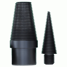 Extreme Hard Wood Screw Splitter Cone Φ75mm with interchangeable cone head