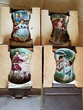 Knowles The King And I Collector Plates (4) - Mint Condition Coa & Boxes