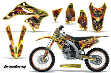 AMR Racing Suzuki RMZ 250 Number Plate Graphics Kit Bike Wrap Decals 10-15 FSTRM