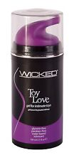 Wicked Toy Love - Toy Lubricant - 3.3oz Water Based Lube