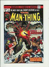 MAN-THING #11  1974 MARVEL COMICS   FOOLKILLER PLOOG ART  VALUE STAMP  FN+