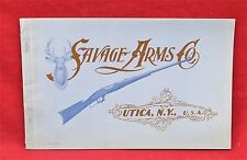 Savage Arms Co., 1960 Reprint Catalog