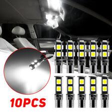 10Pcs 194 T10 BOMBILLAS LED COCHE MOTO Side Marker Aparcamiento Luces De La Matrícula