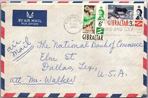 GP GOLDPATH: GIBRALTAR COVER 1963 AIR MAIL _CV588_P19