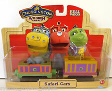 Chuggington Wooden Railway Safari Cars DISCOUNTED