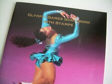 OLYMPIC GAMES SCRAPBOOK WITH 16 MINT STAMPS vol 2