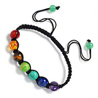 7 Reiki Chakra Healing Balance Beads Bracelet for Men Women Stretch Yoga Jewelry