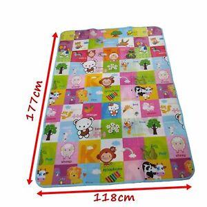 Baby Crawling Puzzle Mat Soft EVA Foam Kids Play Carpet Home Floor Blanket