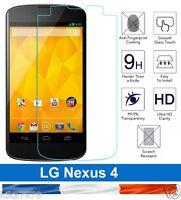 vitre protection verre trempé film de protecteur d'écran pour LG nexus 4 !