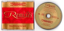 Thomas Anders feat. The Three Degrees Maxi-CD WHEN WILL I SEE YOU AGAIN remixes