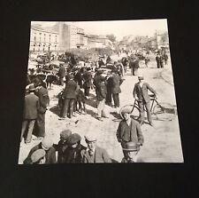 Market Day In Eyre Square, Galway, Ireland - 1903 Irish Life JFK Print