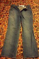 000 Womans Express Blues 11/12 Boot Cut Jeans Denim