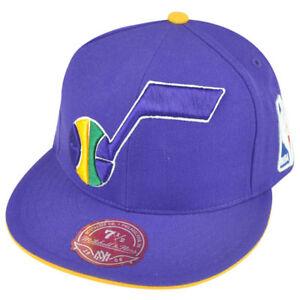 NBA Mitchell Ness Utah Jazz TS51 Team Preferred Fitted Hat Cap