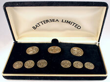 Southern Pacific Solid Brass Blazer Buttons set #1