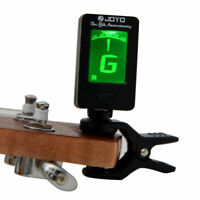 Clip-On Digital Guitar Tuner LCD For Electronic Chromatic Violin Bass Ukulele