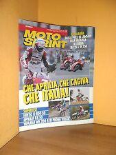 MotoSprint - n° 27 - 1/7 Luglio 1992 - Fantic K-R00 50/Aprilia RX 50 - Rivista