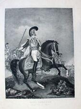 Josef Stieler Principe Karl Theodor di Baviera Befreiungskrieg Kürassier