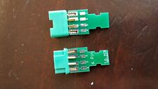 Printed circuit board for MPX 6 pin connectors