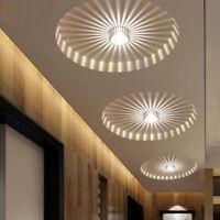 3W LED Aluminium Deckenleuchte Leuchte Lampe Beleuchtung Kronleuchter NEU~