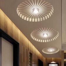 3W LED Aluminium Deckenleuchte Leuchte Weiß Lampe Beleuchtung Kronleuchter NEW
