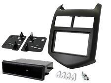 Radio CD Double Din Panneau Avant fascia panel Surround CT23CV07 pour Chevrolet Aveo