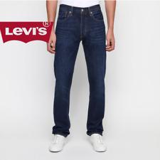 Levis Levi's ® 501 Jeans Uomo NUOVI Strauss Denim Blu Dritto Stright W38 W42 W46