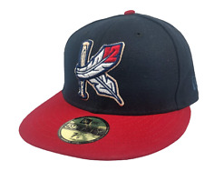 Kingston Indian's New Era 59Fifty Men's Minor League Cap Size 7 1/8