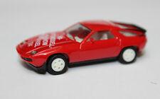 Porsche 928    1:87 von Herpa Sondermodell Automodellshow Kiel 1984  rot