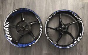 Yamaha Rim Tape R6 R1 Yzf Fz Fazer Wheel Tape Stickers Decal Kit Set Any Colour