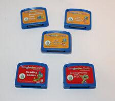 Leap Frog Imagination Desk Game Cartridges LOT of 5 (Set 3)