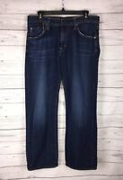 AG Adriano Goldschmied Mens Jeans The Hero Relaxed Fit Blue Size 32 x 29.5
