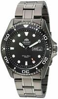 Orient FAA02003B Ray II Automatic Black Stainless Steel 200m Mens Diver Watch