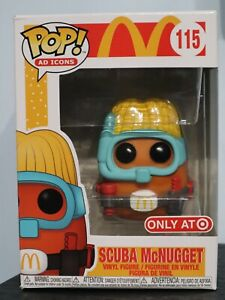Funko Pop! - SCUBA McNUGGET 115 - AD ICONS - McDonalds - Target Exclusive [1]