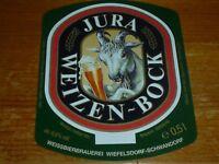 DE .ch. Deutschland WIEFELSDORF Brauerei SCHWANDRF    Bier Etikette