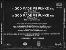 KOOL MOE DEE  God Made Me Funke  2 mixes  Promo CD Single  1990  Jive