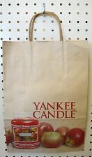 LOT 40 Vintage Brown Paper Shopping Bag YANKEE CANDLE 14 x 10 Wrapped Handle NEW