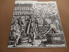 "BR JT & VIBROLUX "" INVOCATION PTS 1 & 2 "" 7"" BLUES ROCK VINYL 1996 EXCELLENT"