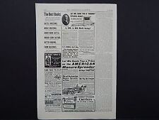 The Breeder's Gazette, Nov. 28, 1906, One Advertising Page, Double Sided #11