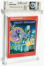 1982 NIGHT STALKER INTELLIVISION MATTEL RED BOX FACTORY SEALED A++ WATA 9.2