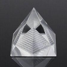 1Pcs Crystal Pyramid Egypt Egyptian Clear Quartz Stone Orgone Healing Large  Hot