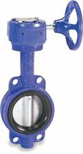 Sharpe Valves 17 Series Ductile Iron Butterfly Valve, Wafer Style, Stainless Ste