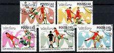 Laos 1994 SG#1386-90 World Cup Football Cto Used Set #A84834