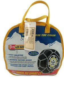 Les Schwab Quick Fit Sport LT Tire Snow Chains Stock #2326-s New Never Used!